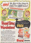 Royal stars of wonderland comic book ad 640