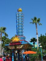 California Screamin entrance