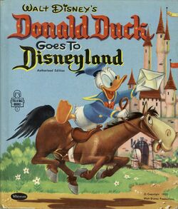 Donald duck goes to disneyland