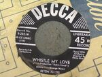 Whistle my love disc