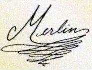 Merlinautograph