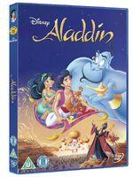 Aladdin 2011ish UK DVD