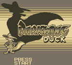 Darkwing Duck Title Card Game Boy