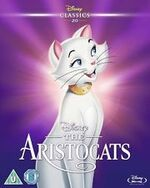 The Aristocats UK Slipcover BD