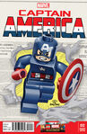 Captain America Lego Marvel edition