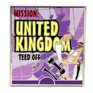 United Kingdom pin