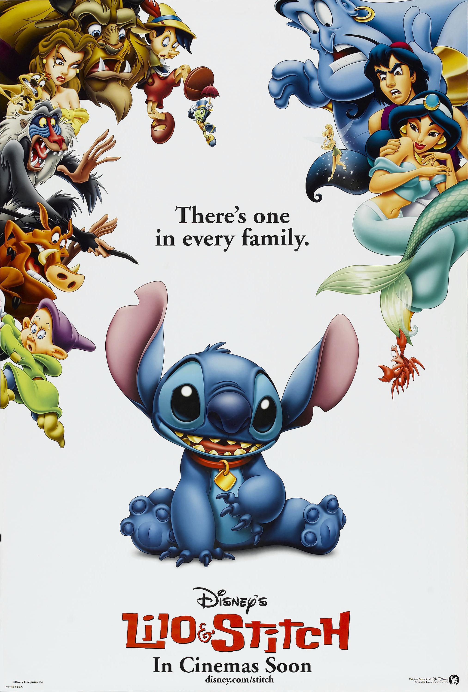 「Lilo & Stitch poster」の画像検索結果