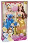 Royal tea cinderella and belle