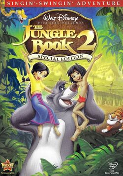 TheJungleBook2 SpecialEdition DVD