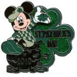 St Patricks Day Pin