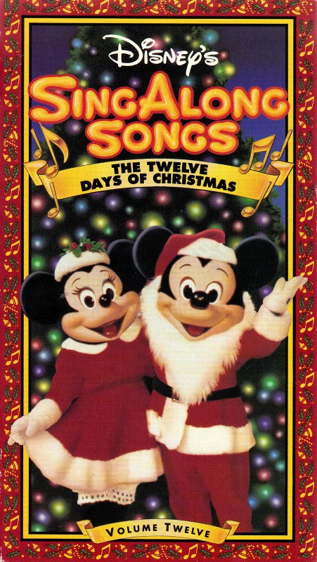 disney sing along christmas songs 1988 1991