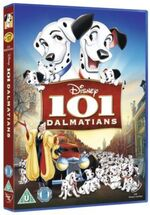 101 Dalmatians 2012 UK DVD