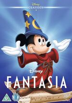 Fantasia UK DVD 2014 Limited Edition slip cover