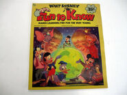 Walt disney fun to know