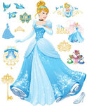 Cinderella stickers