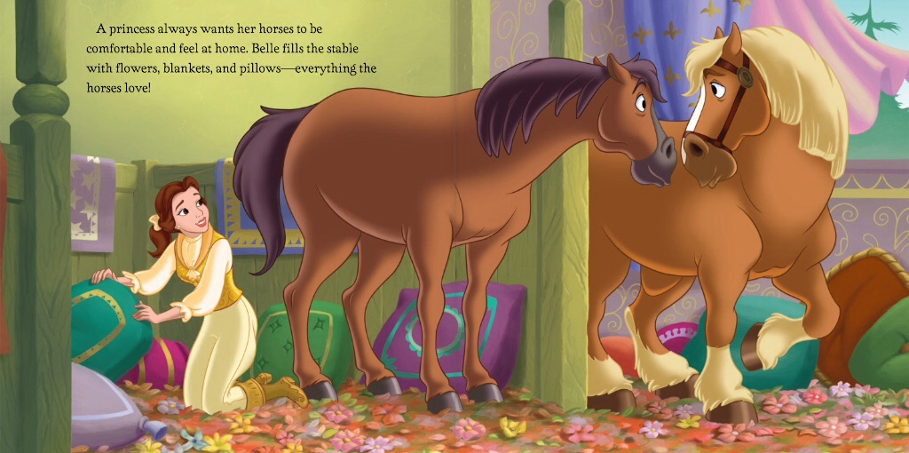 Image Disney Princess A Horse To Love Belle 1 Jpg