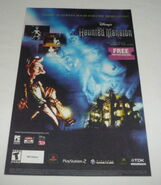 The haunted mansion video game ad