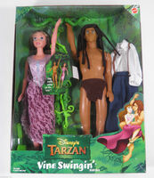 Jane and tarzan doll