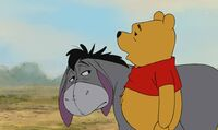 Winnie the Pooh Ever have one of those days where you just can't win Eeyore?