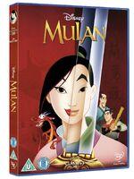 Mulan UK DVD 2014
