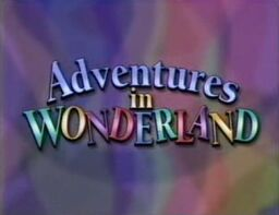 Disney's Adventures in Wonderland - Opening Title Card