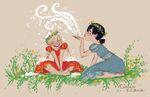 Elsa Anna Springtime (1)