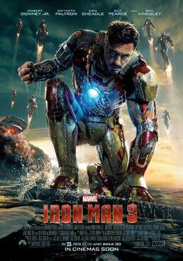 Iron Man 3 theatrical poster