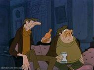 Jasper and Horace as Flotsam and Jetsam