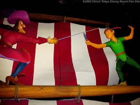 File:Peter Pan fights Captain Hook in Peter Pan's Flight from Tokyo Disneyland.jpg