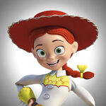 Jessie Toy Story Promation Art