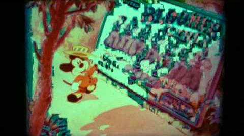 Mickey Mouse The 1st 50 Years Disney Super 8mm Test