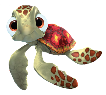 from Taylor squirt from finding nemo