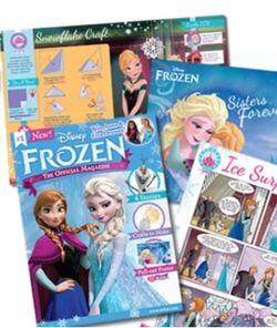 Official Frozen magazine