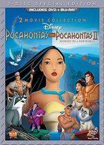 Pocahontas DVD and Blu-ray