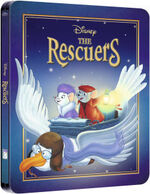 The Rescuers Steelbook
