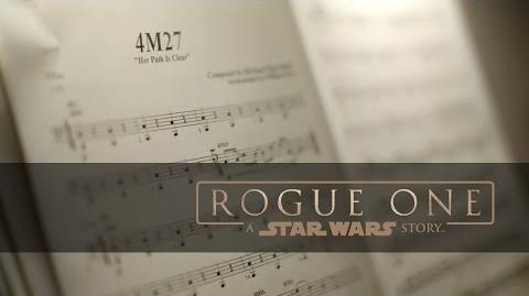 """Rogue One A Star Wars Story """"Scoring Highlights"""""""