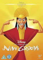 The Emperor's New Groove UK DVD 2014 Limited Edition slip cover