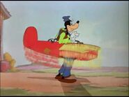 Goofy poised for takeoff