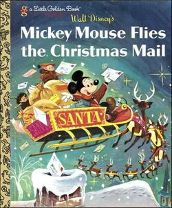 Mickey mouse flies the christmas mail lgb classic