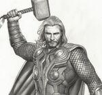 Thor Avengers Concept Art 4