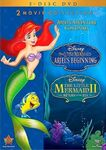 The Little Mermaid II & Ariel's Beginning DVD 2013