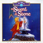 The sword in the stone masterpiece laserdisc
