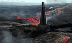 Darth Vader's castle concept art