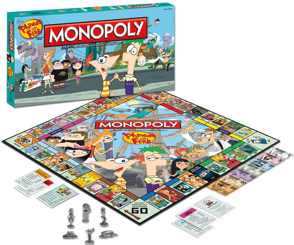 Phineas And Ferb Monopoly Disney Wiki Fandom Powered