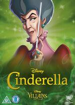 Cinderella Disney Villains 2014 UK DVD