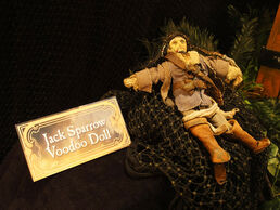 Jack Voodo Doll on Display