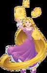 Rapunzel with lanterns