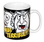 Close up statler uk mug 1