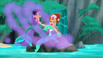 Marina&Coralie-sleeping mermaid