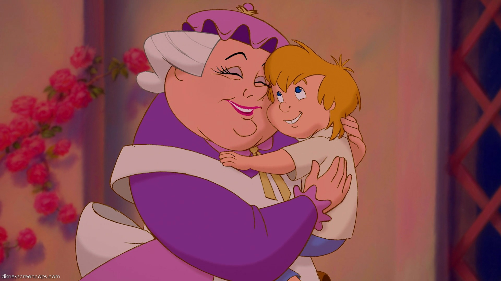 9 Mrs Potts Is Chips Mom Yet The Woman We See At End Of Movie Seems Too Old To Be A Mother Such Young Boy